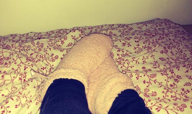 Warme Socken allein reichen bei Temperaturen unter dem Gefrierpunkt leider nicht aus (© marie-curie.com)