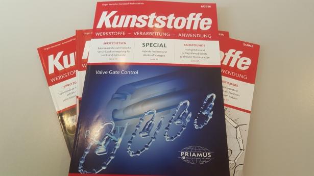 Von 2015 bis 2017 absolvierte ich mein Volontariat bei der Fachzeitschrift Kunststoffe (© sofawissen.com)