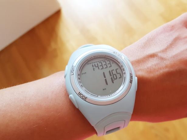 ... dass ich heute fast 12 km gelaufen bin (© sofawissen.com)