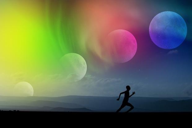 Runners High: Wenn alles fließt und man quasi von alleine läuft (© Pixabay)