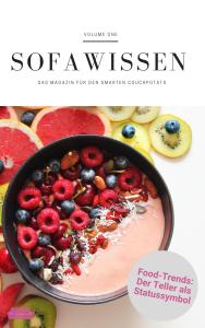 Sofawissen - Magazin Ausgabe 1 Food-Trends - Cover